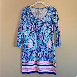 Lilly Pulitzer Cotton Beacon T-Shirt Dress Small